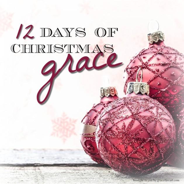 12 days christmas grace - gracethread
